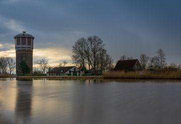 Watertoren in Assendelft van Arno van der Poel