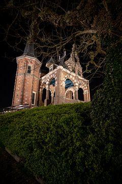 Historische stadspoort van Sneek van Fotografiecor .nl