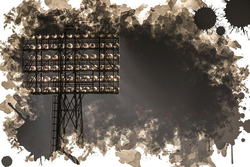 "Feyenoord ART Rotterdam Stadion ""De Kuip"" Lichtmast van MS Fotografie   Marc van der Stelt"