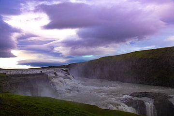 Gullfoss, IJsland van Anne Ponsen