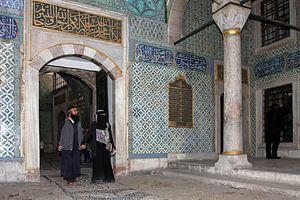 Harem in het Topkapi paleis