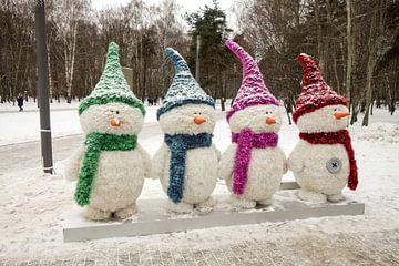 Sneeuwmannen von Floris De Mol