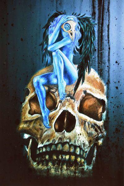 Blue fairy van Dinie de zeeuw