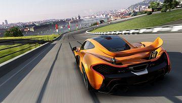 McLaren P1 sur Natasja Tollenaar