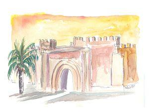Taroudant Oude Stadspoort in Marokko