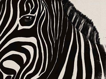 Zebra von Studio Malabar