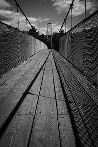 Hanging bridge, Quebec, Canada