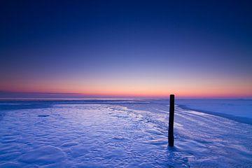 Blue sunrise van