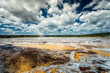 Great Fountain Geyser Yellowstone von Harold van den Hurk