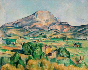 Der Berg Sainte-Victoire, Paul Cézanne (ca. 1892-1895)