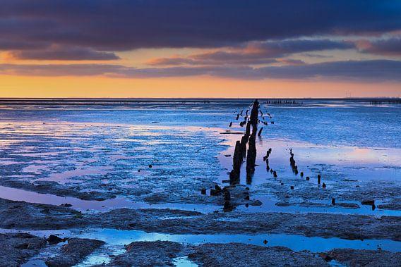Het blauwe uur aan de Noordkaap van Karla Leeftink
