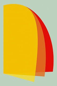 Minimalistische geometrie nr. 7 van Pascal Deckarm