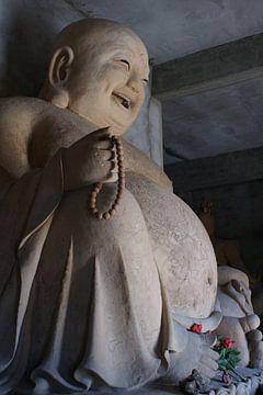 Milefo Toekomstige Buddha Yinchuan Ningxia Hedong van Ben Nijhoff