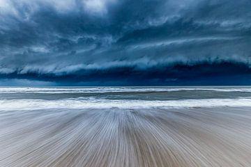 Gewitter auf dem Weg von Smit in Beeld
