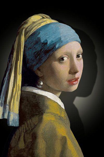 Meisje Met De Parel - The Simply Shaded Edition van Marja van den Hurk