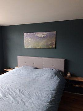 Kundenfoto: Seerosen (Agapanthus), Claude Monet