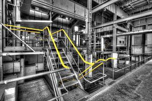 Abandoned power plant Dongecentrale  in The Netherlands Geertruidenberg