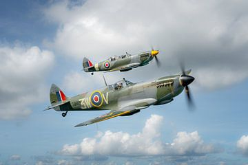 Spitfire Formation van Planeblogger