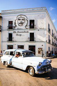 Oldtimer in Camaguey van