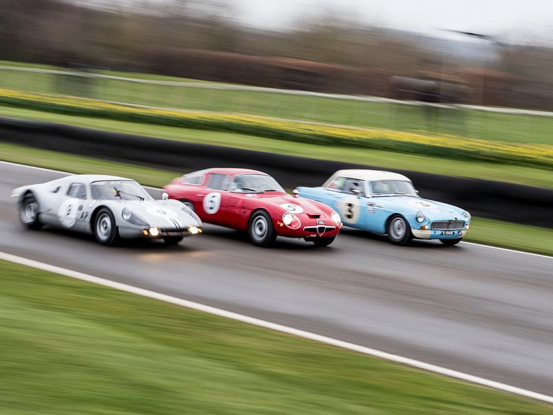 Porsche - Alfa - MG van Mattijs Diepraam