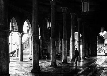 Vismarkt in Venetië