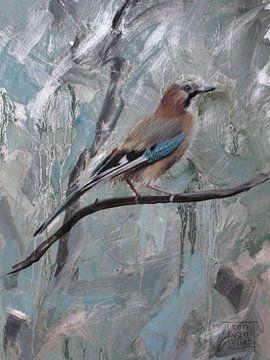 Wintervogel van Ron van Vliet