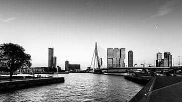 Skyline van Rotterdam sur Danny den Breejen