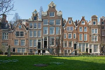 Begijnhof dans Amsterdam sur Barbara Brolsma