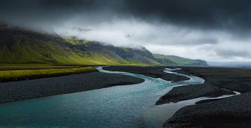 Stürmische Wolken von Steven Driesen