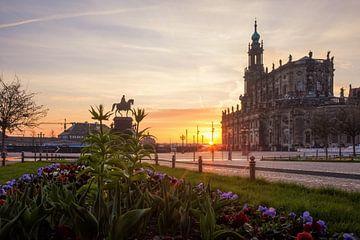 Aprilmorgen in Dresden von Sergej Nickel