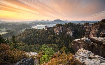 Saksisch Zwitserland - Bastei van Jiri Viehmann