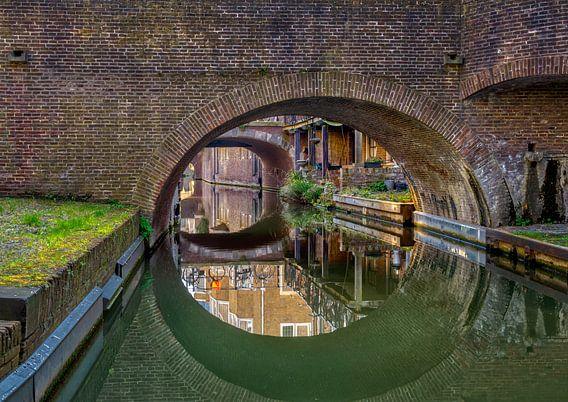 Kromme Nieuwe gracht van Robin Pics (verliefd op Utrecht)