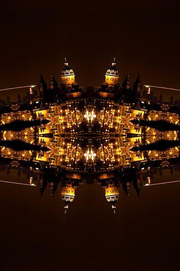 The Skyline at Night - Amsterdam 2