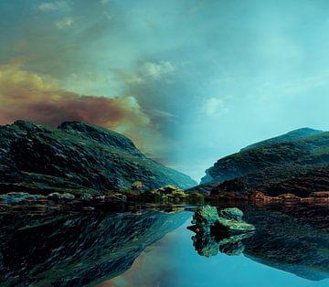 Wunderschöner Sonnenuntergang 2 von Angel Estevez
