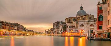 Venise - Grand Canal -Chiesa di San Geremia II sur Teun Ruijters