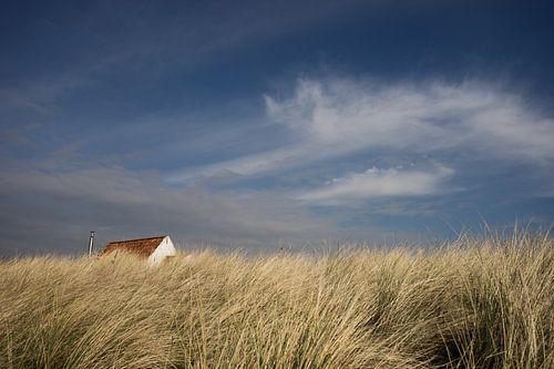huisje in de duinen van