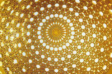 Gouden koepel  (gezien bij vtwonen) van Renée Teunis