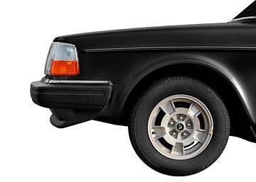 Volvo 244 GL in black von aRi F. Huber