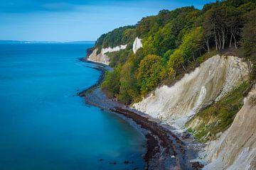 Kreideküste auf Insel Rügen von Martin Wasilewski