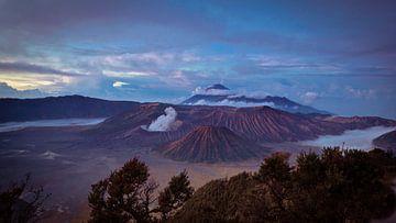 Bromo vulkaan van