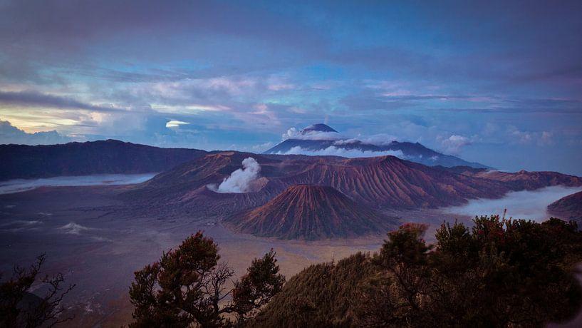 Bromo vulkaan van Chantal Nederstigt