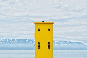 Húsavík Lighthouse sur Matthijs Van Mierlo