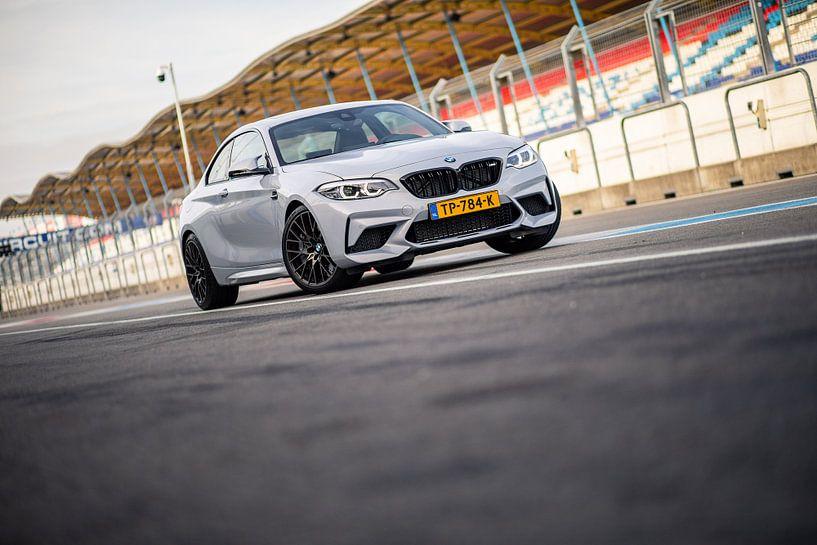 BMW M2 op het circuit van Assen van Martijn Bravenboer