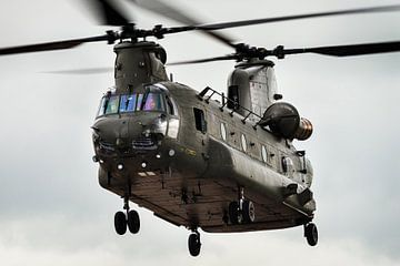 Boeing CH-47 Chinook helikopter van Kris Christiaens