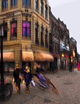 Café de Beurs, Groningen Stad van Fons Bitter
