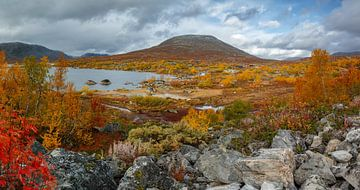 Herfst in Noorwegen van