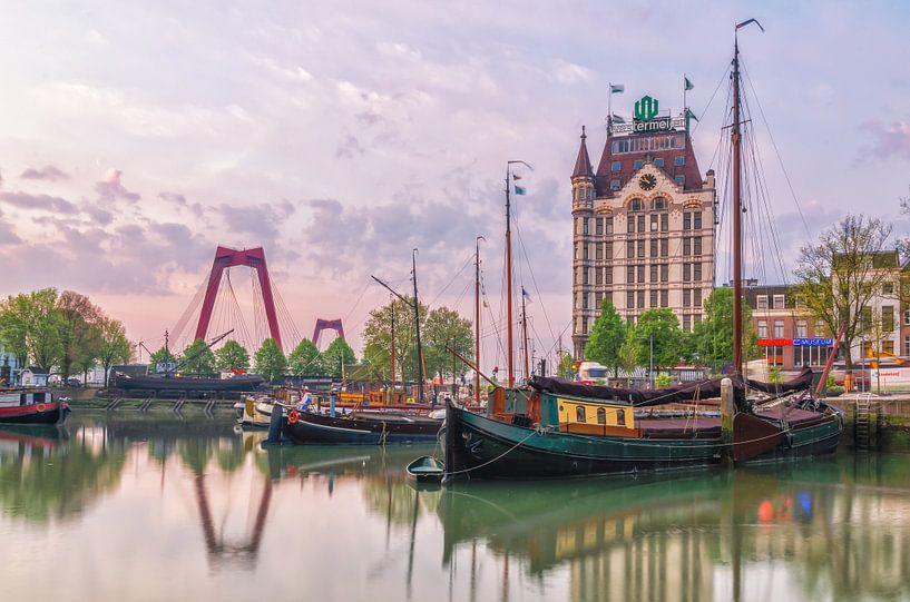 Oude Haven in zacht licht van Prachtig Rotterdam