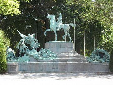 Antwerpen War Statue van Sander van der Lem