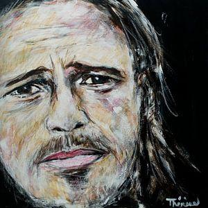 Porträt von Brad Pitt.