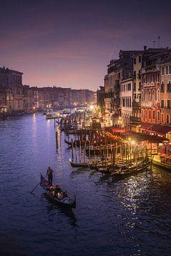 Rialtobrug van Venetië van Iman Azizi